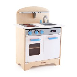 Coolo Cocina juguetes C5001 Juguetes de madera para niños cocinar y lavar jugar