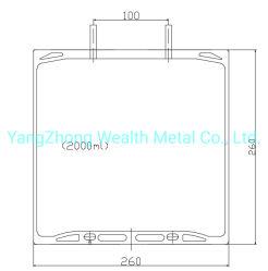 2000 мл ПВХ-Bag и мытья ЭБУ подушек безопасности/вливание ЭБУ подушек безопасности/Lvp мешок