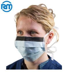 Completamente automática de alta velocidad de la máscara de vendaje Máquina automática de soldadura ultrasónica de alimentación para el embalaje de la cirugía de la máscara facial de vendaje máquina fácil de máscara de 3 capas
