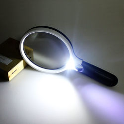 ترقية هبة ضوء مكبّر مصباح قراءة مكبّر [لد] يكبّر - زجاج