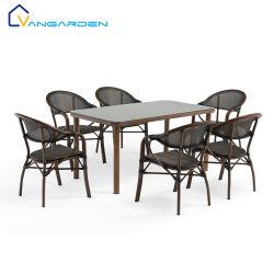 Новый стиль алюминиевых терраса балкон открытый дворик стол и стулья Садовая мебель