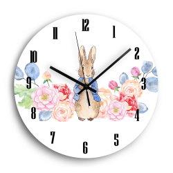 고급 패션 UV 인쇄 월 시계 키즈 룸