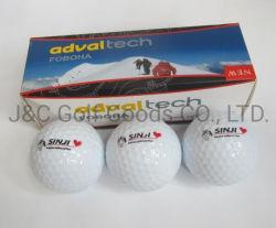 Manchon de boîte en carton personnalisé emballé logo personnalisé de l'impression pour une balle de golf Don Tonament
