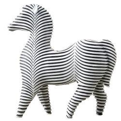La sculpture moderne Figurine résine cheval animal pour la maison Accessoires de décoration