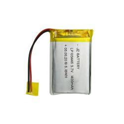 В машине для считывания отпечатков пальцев используется 783450 103445 литиево-полимерный аккумулятор 3,7 в 1400 мА/ч.