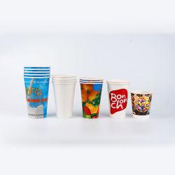 Copo frio Sumo de papel barato Coca-Cola 12oz 16oz Double PE Copa do frio