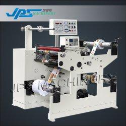 Auto/autocollant automatique Le papier des étiquettes du rouleau de film trancheuse rembobineur Machine