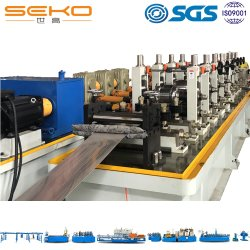 Tubo soldado Industrial totalmente automática máquina de formação de rolos de tubo Petroquímico Mill