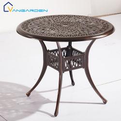 Heißer Verkaufs-im Freienspielplatz-gesetzte Garten-Möbel mit runden Tischen