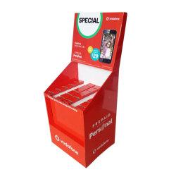 De kleinhandels Bakken van de Stortplaats van de Vertoning van het Document van het Karton van de Bevordering voor de Marketing van Producten
