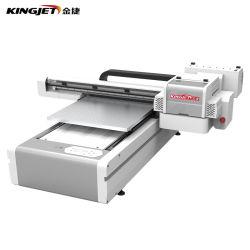 Stampante UV della base 3D del getto di inchiostro A4 di Kingjet Digital per il vetro della plastica del metallo della sfera di golf della cassa del telefono della penna della bottiglia