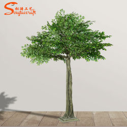 Legno naturale tronco Umbrello forma Home Giardino decorazione artificiale Ficus Albero con nuova tecnologia