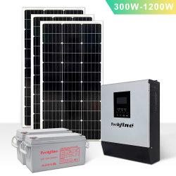 TechFine 12V 800va 1kVA 1.5kVA PWM Solar Hybrid 인버터 AC/DC 500W 800W 1.2kw 하이브리드 솔라 인버터