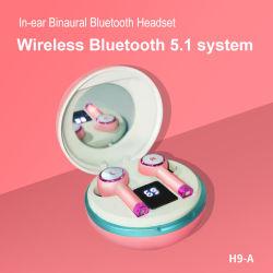 LED-Bildschirmanzeige Earbuds beständiges Bluetooth Earbuds mit niedriger Verbrauchs-beständigen Signal Bluetooth Kopfhörern