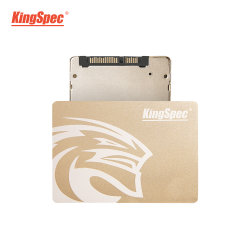 "Kingspec 7mm 2.5"" Boîtier métallique d'or SSD 500 Go SSD"