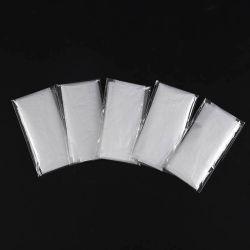 일회용 투명 폴리백 PE/HDPE 장갑(개별 접이식), 단일 접이식