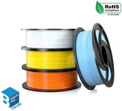 Fábrica de grossista de venda directa de 1,75mm PLA 3D de filamentos de impressão impressora 3D Filamento de filamento de Impresora 3D para Fmd Desktop Printer