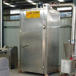 250 kg tocino salchicha pollo Ahumadero de secado de carne de la máquina comercial de maquinaria de procesamiento de carne fumador