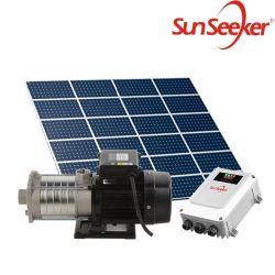 Noisloze dompelpomp voor onderdompelbaar watersysteem met zonne-energie voor Landbouw