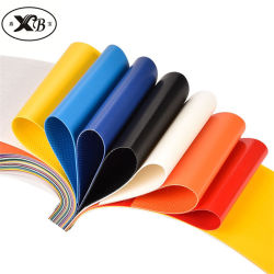 PVC تربولين Textile 650GSM مقاومة للماء للأشعة فوق البنفسجية