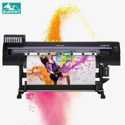 Verdadeiro Mimaki Cjv300-160 impressora a jato de tinta Solvente ecológico com cabeça 2 PCS