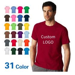 Top Quality 100% Cotton T-shirt voor heren met Printing Custom Your T-shirt met logo