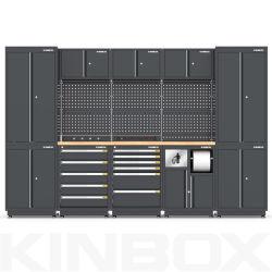 2020 Kinbox 23 equipos de almacenamiento de garaje, el banco de trabajo para el área Industrial