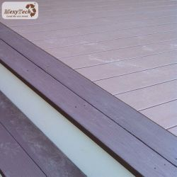 Platelage Composite antiglisse Mexytech/Composite Decking Conception solide