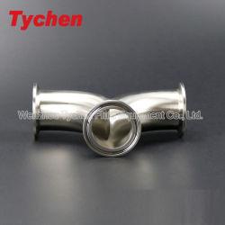 Acciaio inossidabile curvatura rotonda del doppio del gomito del tubo da 90 gradi