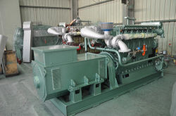 250kw 250GF typen Mariene Diesel/van de Generator Hfo Reeks Met lage snelheid/Producerend Reeks