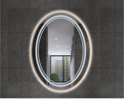 أثاث بيضاوي ديكور بيضاوي حمام مرآة زينة مثبتة على الحائط مرآة الزينة العادية