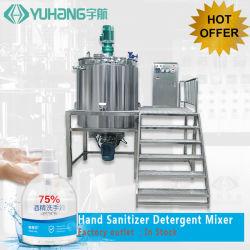 Jabón líquido lavavajillas máquina mezcladora