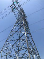 La transmisión de energía eléctrica de la igualdad de metales Acero ángulo de la torre de celosía