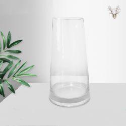 Fantástico Ryan Ins vidro moderna vaso Irised Crystal Clear vaso de vidro para Home Office Decoração Moderna