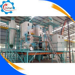 La biomasa el aserrín de madera de prensa de pellet cascarilla de arroz completa línea de producción Fabricación