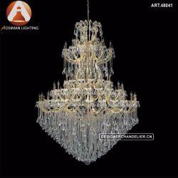 Maria Teresa lustre de cristal de iluminação Luxury