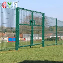 Современный дизайн сварной проволочной сеткой красивых утюг ворота и ограждения