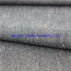 CVC, patrón de espina de pez de prendas de vestir de tejido Yarn-Dyed