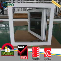 Bahamas House UPVC Casement Windows, Hurricane Impact Getönte Fenster