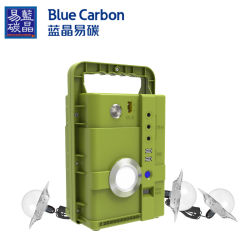 Centrale elettrica mobile del sistema domestico della casa solare all'ingrosso dell'automobile con l'input e l'uscita di CC di CA