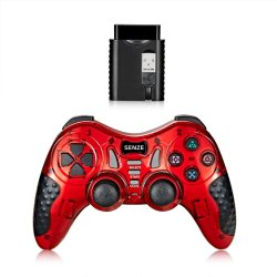 5 en 1 Manette de jeu sans fil pour PS2/PS3/PC/X-d'entrée/périphériques Adroid