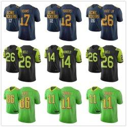Pullover 2019 di gioco del calcio di Mack Barkley Darnold di watt dell'edizione della città di N-F-L