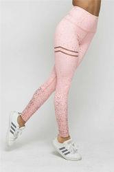 Дамы сшитые брюки для занятий йогой спорт зал Leggings одежды