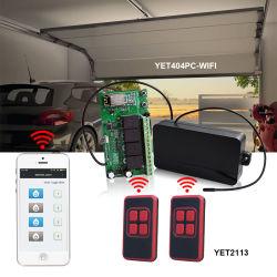 スイッチのドアYet404PC-WiFiのための4つのチャネルのWiFi APPの遠隔受信機