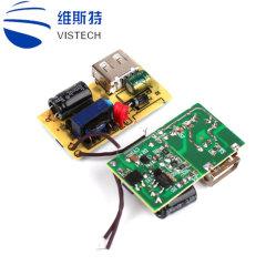 셀룰라 전화 OEM/ODM 최고 충전기 PCBA 여행 충전기 1 운반 단 하나 AC USB 인조 인간 벽 이동 전화 충전기 PCB
