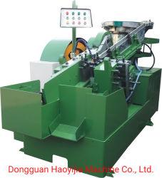 Automação completa do tipo placa de vibração máquina de laminação de threading para o parafuso de rosca do parafuso máquina de formação