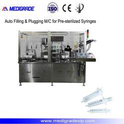 M/C di riempimento & di tappo automatico per le siringhe presterilizzate