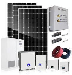 Fontes de Energia do Sistema de Energia Solar Painel Solar 500W para Fazenda