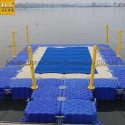 Passarelas flutuantes modular, barcaças e plataformas de trabalho como um tijolo de Flutuação