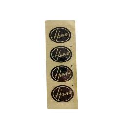 Custom ПЭТ/нержавеющая сталь/никель наклейки наклейки знаки